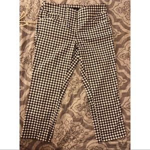 Cropped Gingham Pants 🌟FINAL PRICE🌟